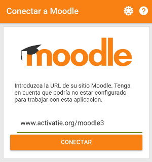 Conectar a Moodle