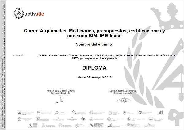 Diploma activatie