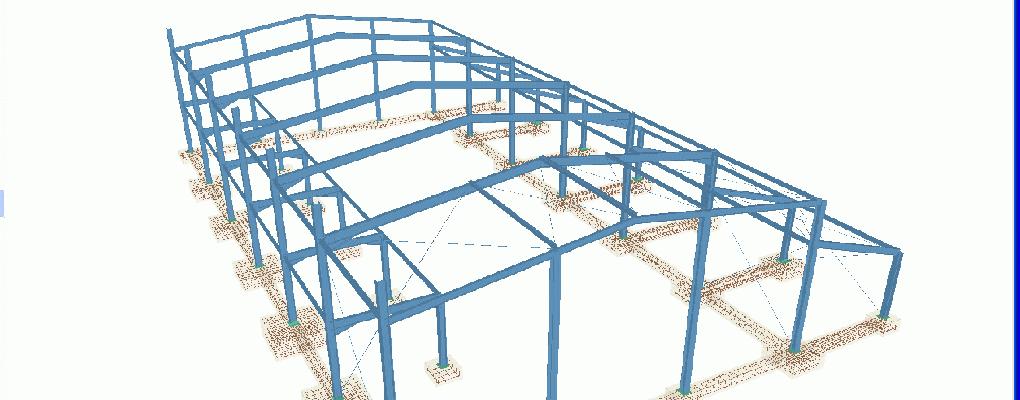 Curso cype 3d c lculo de estructuras met licas - Fotos de construcciones metalicas ...