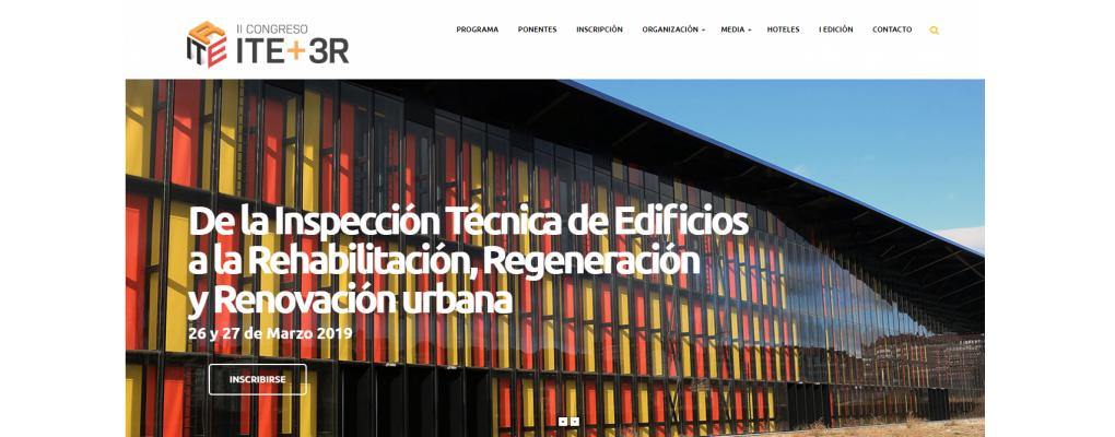 II Congreso ITE + 3R - El 26 y 27 de marzo en León