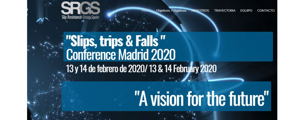 Slips, Trips and Falls Conference. Madrid 2020