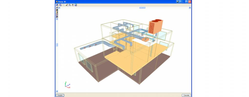 Cálculo de instalaciones para proyectos de adecuación de locales con CYPECAD MEP