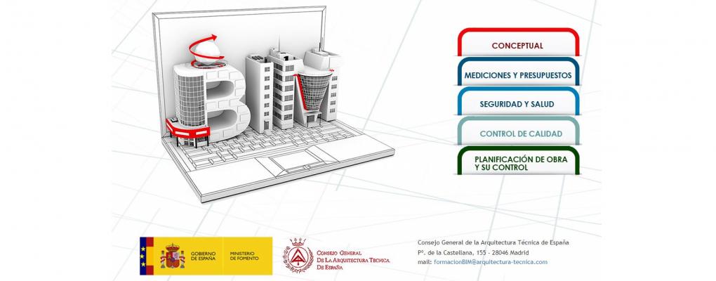 Jornada gratuita sobre BIM en la Arquitectura Técnica y mediciones BIM