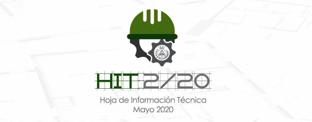Hoja de Información Técnica HIT 2/20 – Mayo. CGATE
