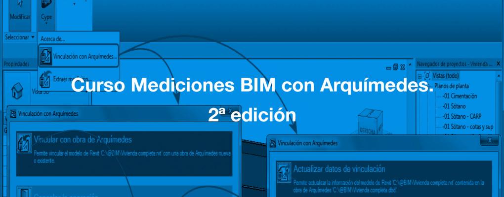 Curso Mediciones BIM con Arquímedes. 2ª edición