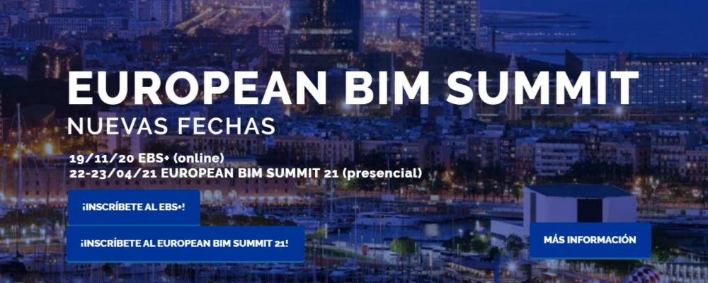 European BIM Summit 2020. Nuevas Fechas