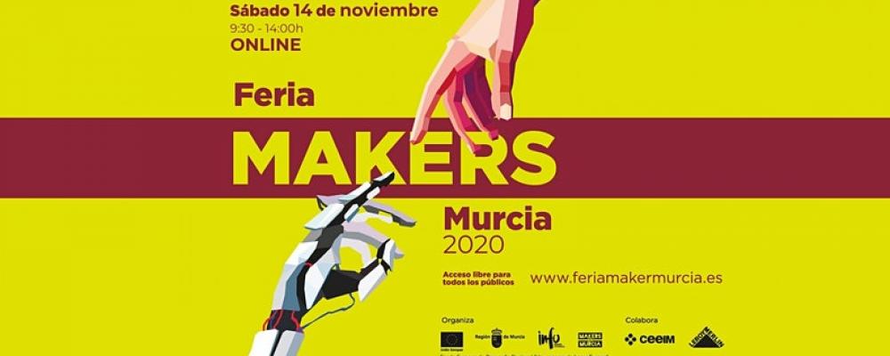 Feria Makers en Murcia sobre impresión 3D, drones y tecnología