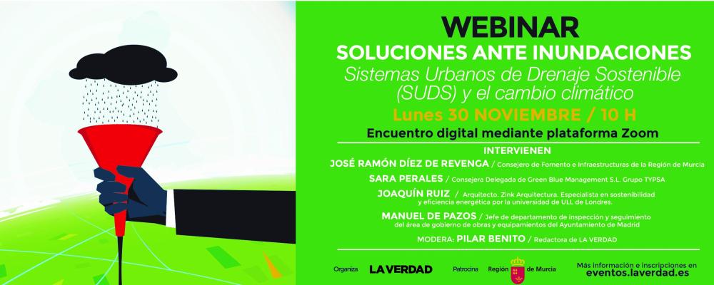 """Encuentro digital del ciclo """"Soluciones ante Inundaciones"""""""