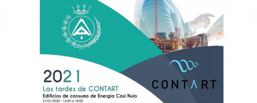 Las tardes de CONTART. Sesión 1. Edificios de Consumo de Energía Casi Nulo ¡Plazas limitadas!