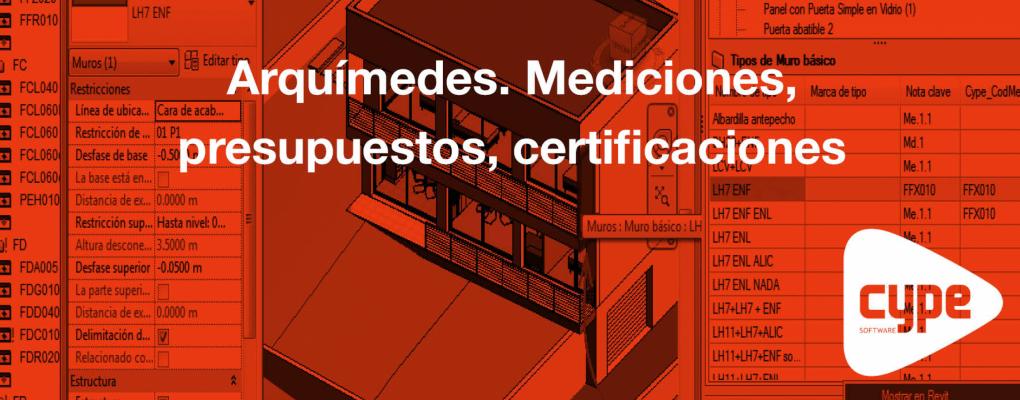 Curso Arquímedes. Mediciones, presupuestos, certificaciones. 8ª edición