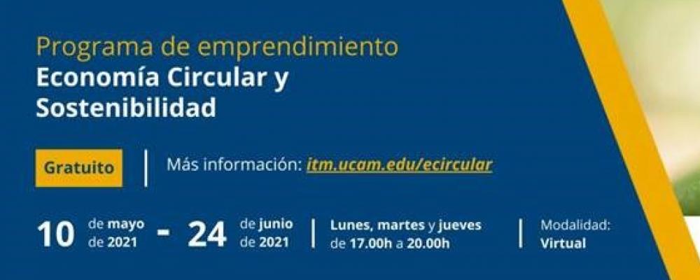 Programa de emprendimiento en Economía Circular y Sostenibilidad