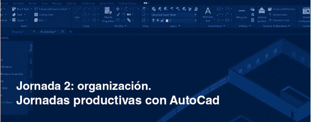 Jornadas productivas con AutoCad. Jornada 2: organización. 2ª edición