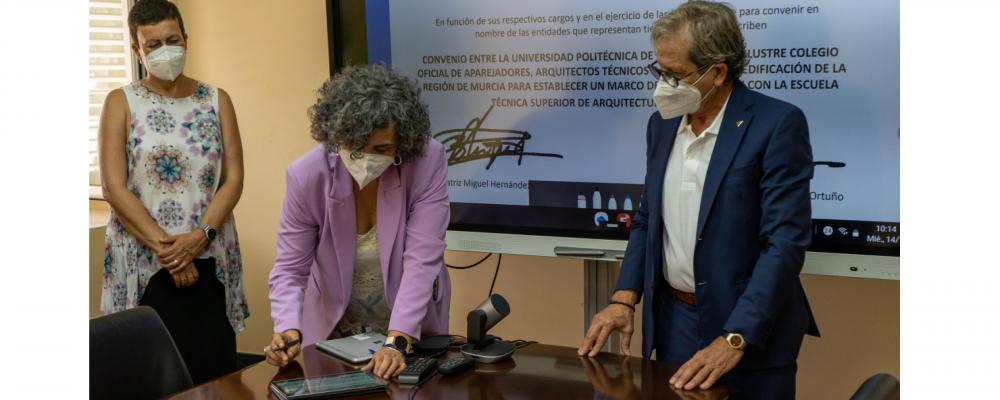 Acuerdo para reforzar la formación continua y la adecuación de los estudios de Ingeniería de Edificación a la demanda profesional