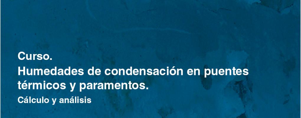 Humedades por condensación en puentes térmicos y paramentos. Cálculo y análisis. 7ª Edición.