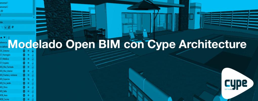 Curso Modelado Open BIM con Cype Architecture
